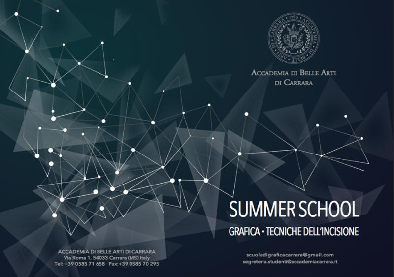 La Summer School di Grafica d'Arte