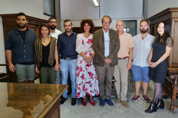"""Approda a Carrara """"Tracce sulla Francigena"""""""