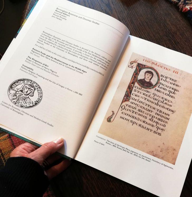 Francesca Dell'Acqua: Bisanzio, le immagini e la Roma dei papi (c.680–850)