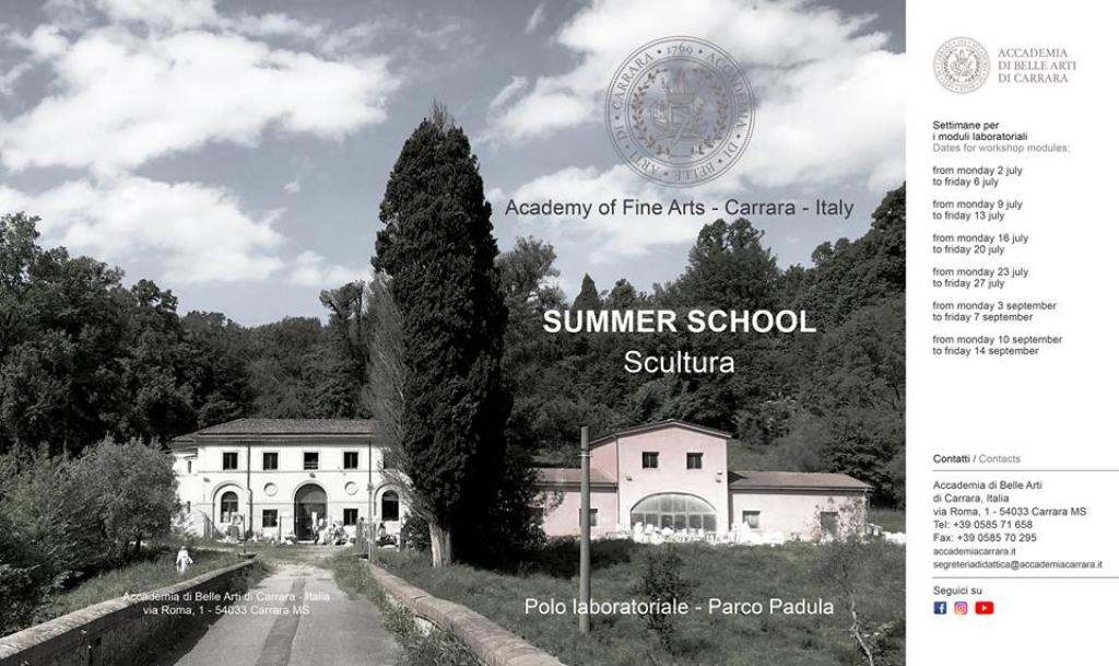 La Summer School di Scultura