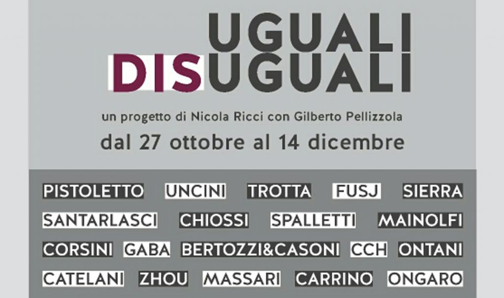 UGUALI DIS/UGUALI a Palazzo Binelli