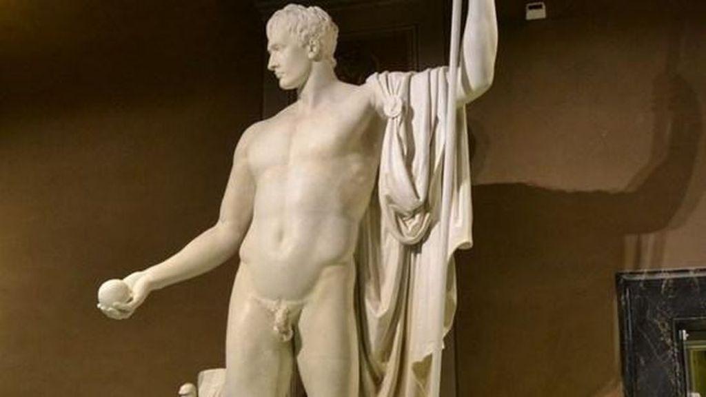 Torna a splendere il Napoleone come Marte pacificatore del Canova