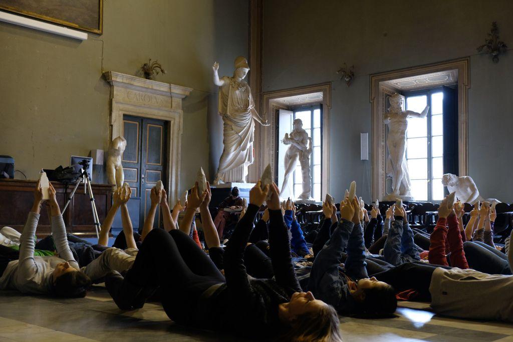 Rituali sul corpo e la scultura a Firenze